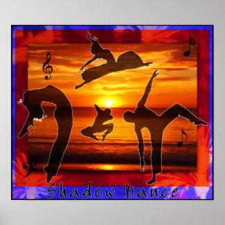 Danza de sombra póster