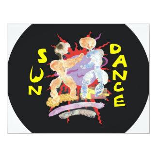 """Danza de Sun Invitación 4.25"""" X 5.5"""""""