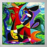 Danza de Taino, arte de Puerto Rico Impresiones