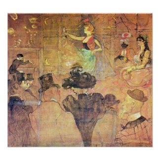 Danza de Toulouse-Lautrec - de Mauri Póster