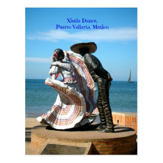 Danza de Xiutla en el Malecon Peurto Vallarta Méxi Postales