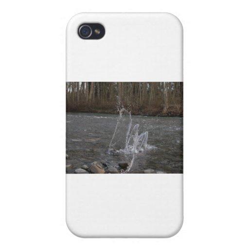 Danza del agua iPhone 4 fundas