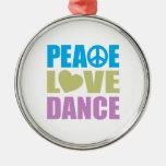 Danza del amor de la paz ornamentos de reyes