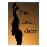 Danza del amor de Liv Felicitaciones