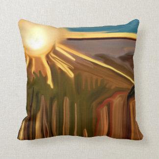 Danza del arte abstracto de los cactus almohadas