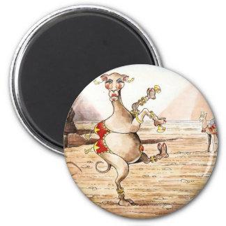 Danza del camello imán de nevera