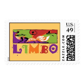 Danza del Caribe del limbo Sello Postal