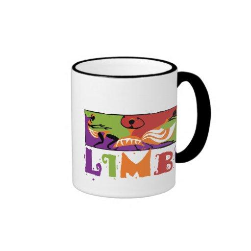 Danza del Caribe del limbo Taza A Dos Colores