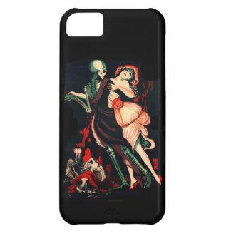 Danza del caso del iphone 5 de la muerte apenas carcasa para iPhone 5C
