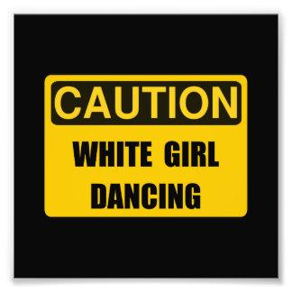 Danza del chica de la precaución fotografías