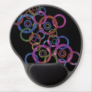 Danza del círculo alfombrillas de ratón con gel