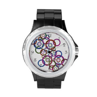 Danza del círculo reloj de mano