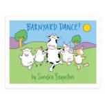 ¡DANZA DEL CORRAL! postal de Sandra Boynton