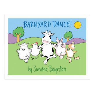 ¡DANZA DEL CORRAL postal de Sandra Boynton