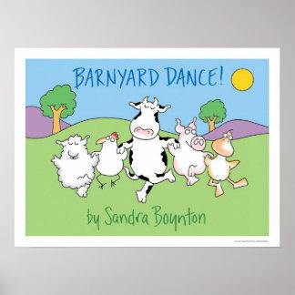 ¡DANZA DEL CORRAL! poster de Sandra Boynton