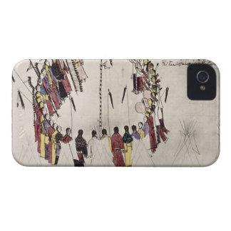 Danza del cuero cabelludo o danza de la victoria carcasa para iPhone 4 de Case-Mate
