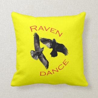 Danza del cuervo almohadas
