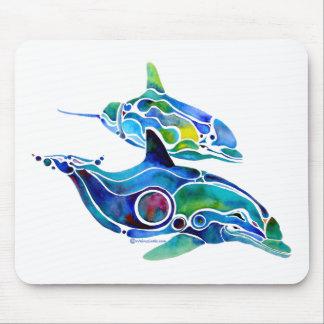 Danza del delfín alfombrillas de ratón