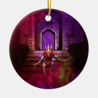 Danza del demonio ornamente de reyes