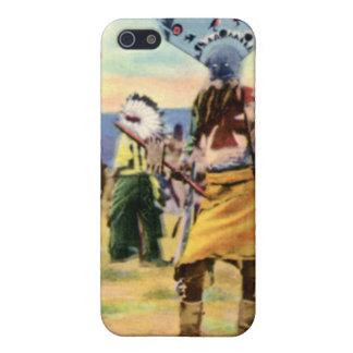 Danza del diablo de los indios de Arizona Apache iPhone 5 Cárcasa