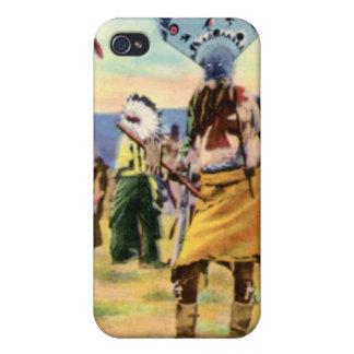Danza del diablo de los indios de Arizona Apache iPhone 4/4S Fundas