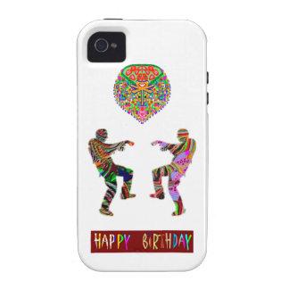 Danza del feliz cumpleaños iPhone 4/4S fundas