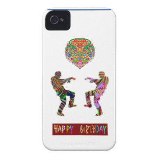 Danza del feliz cumpleaños iPhone 4 protectores