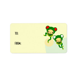 danza del froggy etiqueta de dirección