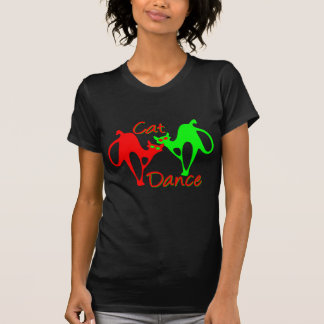 Danza del gato camisetas