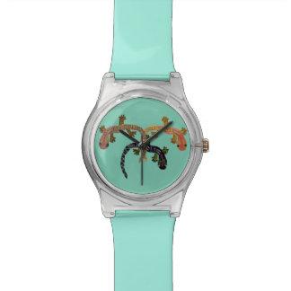Danza del Gecko Relojes De Mano