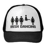 Danza del irlandés gorro de camionero