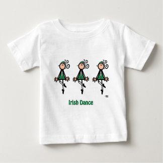Danza del irlandés playera de bebé