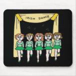 Danza del irlandés tapetes de ratón