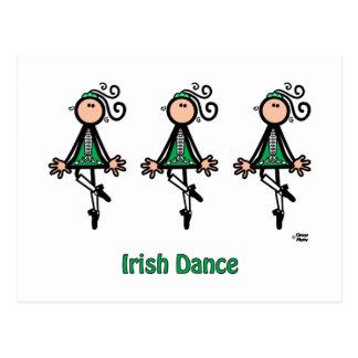 Danza del irlandés tarjetas postales