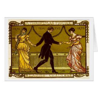 Danza del navidad tarjeta