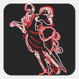 Danza del pegatina de la muerte