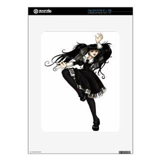 Danza del piano skin para el iPad
