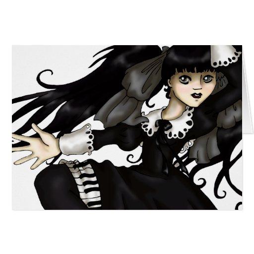 Danza del piano tarjetón