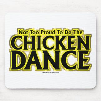 Danza del pollo alfombrilla de raton