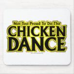 Danza del pollo tapetes de ratones