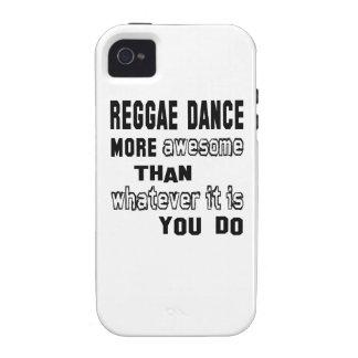 Danza del reggae más impresionante que lo que es Case-Mate iPhone 4 fundas