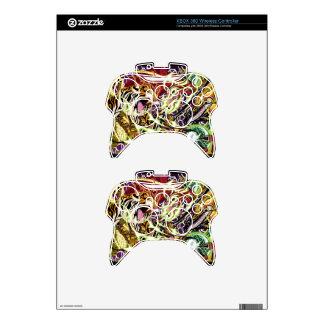 Danza del regulador inalámbrico SK de XBOX 360 de  Mando Xbox 360 Skin