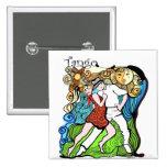 Danza del tango - dos poco Tangueros Pins