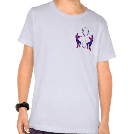 Danza del zombi del alfabeto ART101 T-shirts