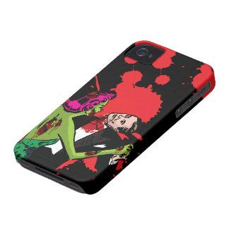 Danza del zombi del caso del iPhone 4 del zombi Case-Mate iPhone 4 Cárcasa