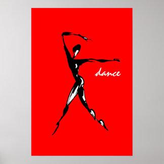 danza. el bailarín impresiones