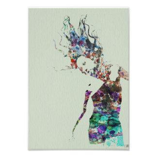 Danza en arte cojinete