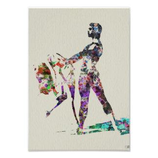 Danza en arte fotografías
