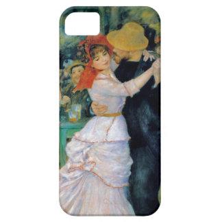 Danza en Bougival por la bella arte de Renoir Funda Para iPhone SE/5/5s