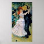Danza en Bougival por la impresión de la bella art Impresiones